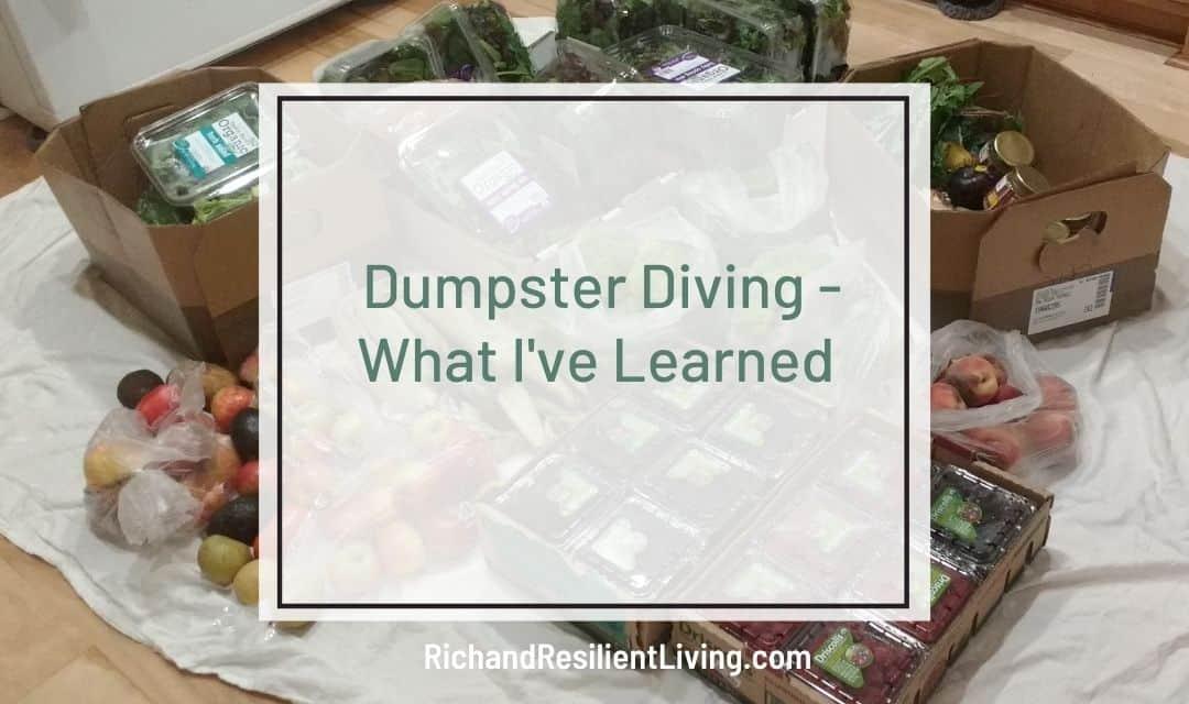 dumpster diving resources