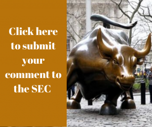 SEC rule 14a-8 submit comment