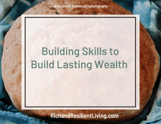building skills to build lasting wealth