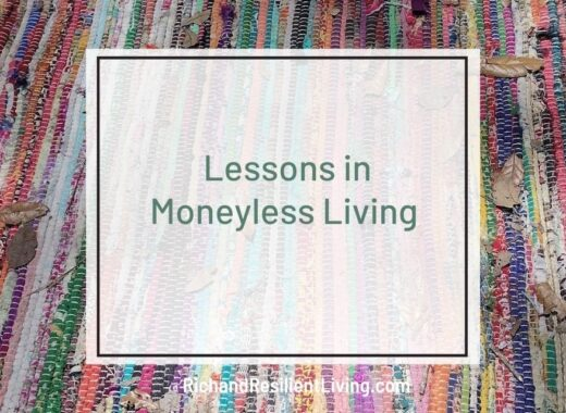living without money